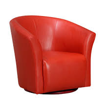 Radford Red Swivel Chair URT891100SWCA - The Home Depot