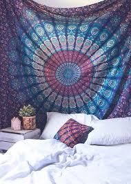 Best 25 Tapestry Bedroom Ideas On