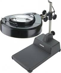 Lighted Magnifier Desk Lamp by Desk Lamp Magnifying Glass Foter