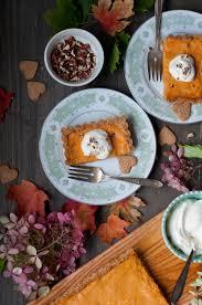 Pumpkin Chiffon Pie With Cool Whip by Pumpkin Chiffon Tart In An Oats Gingersnap Crust U2014 Saltnpepperhere