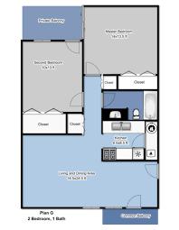 5x8 Bathroom Floor Plan by Lakeshore Village Karademas Management