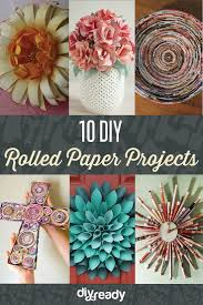 Rolled Paper Crafts DIY Projects Craft Ideas How Tos For Home
