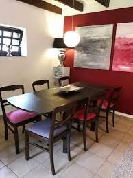 esstisch wohnzimmertisch garnitur tisch und 6 stühle