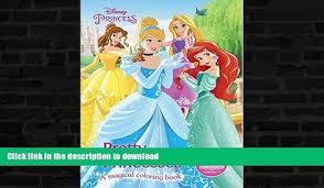 EBOOK ONLINE Pretty Princesses Coloring Book Disney Princess Color Fun GET PDF