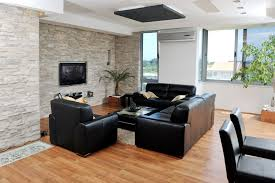 Black Leather Sofa Decorating Ideas by 78 Stylish Modern Living Room Designs In Pictures You Have To See