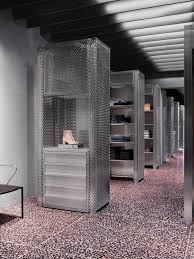 acne studios la pink terrazzo tiles with anthracite coloured
