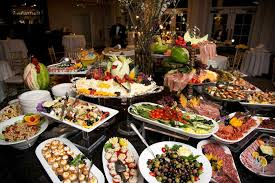 Food Ideas For Wedding Reception Buffet