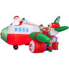 Holiday Living 938ft X 182ft Lighted Santa Christmas Inflatable