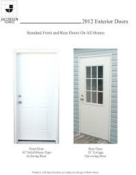 Mobile Home Exterior Door Mobile Home Doors Exterior In Stunning