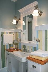 Pedestal Sink Storage Cabinet by Bathroom Cabinets Bookshelves Flanking Pedestal Sink Bathroom