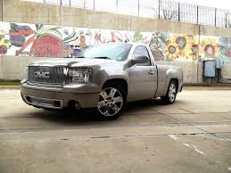 Gmc Trucks Lowered On Stock Rims, Shocks For Lowered Trucks | Trucks ...