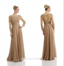 gold long sleeve lace dress dress images