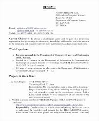 Resume Career Objective Part Time Job Lovely A Classic Grey Examples