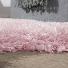 fellteppich kunstfell imitat flokati stil langflor teppich wohnzimmer rosa