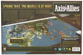 Axis And Allies 1942 Second Edition Board Game Amazoncouk Toys Games