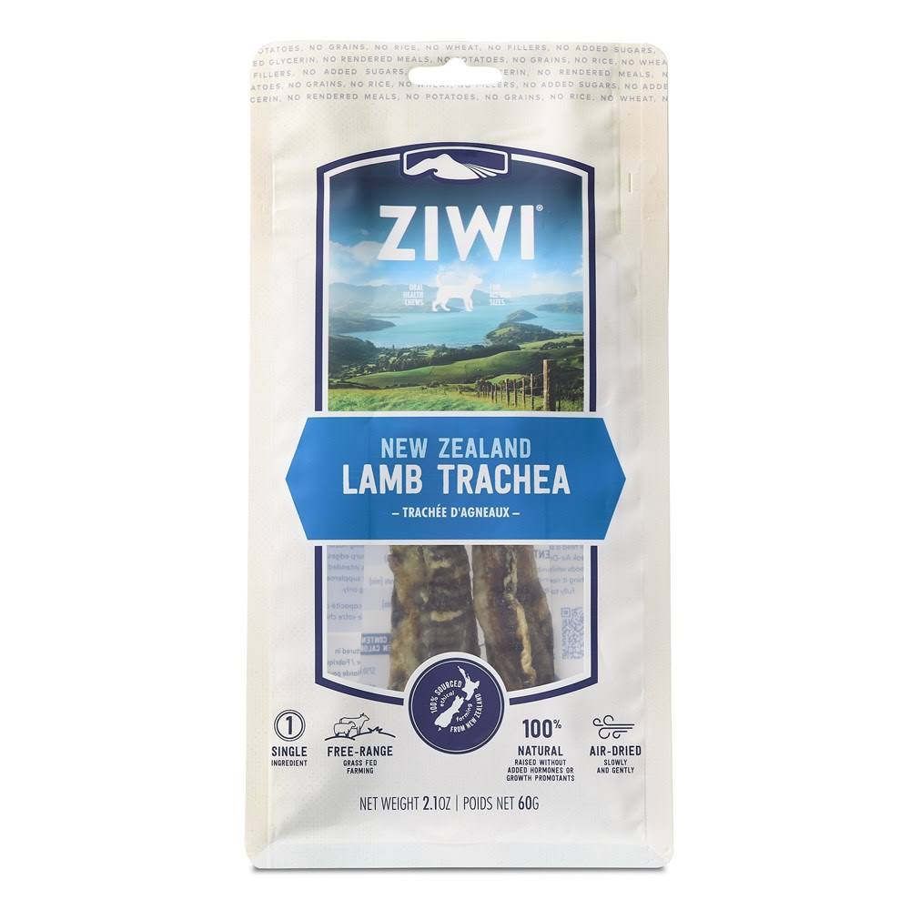 Ziwi Natural New Zealand Single Sourced Protein Dog Chews - Lamb Trachea, 60g