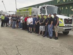 Proctorville Gets New Pumper Truck   Ohio News   Herald-dispatch.com Pump Trucks Stock Photos Images Alamy Transway Systems Inc Custom Truck Pumper Ads Hydro Excavation Septic Tank Vacuum Sold 2004 Freightliner Eone 12501000 Rural Command Fire Used Pumping For Sale Best Image Kusaboshicom Springwater Receives New Township Of 1994 Intertional Tanker Details Imperial Industries Baseline Series Sets The Bar For 1980 Ford F700 Pumper Truck Item H1316 April 16 Ve How To Spec Out A Dig Different Analysis Kinds Portalogix Is Rosenbauer