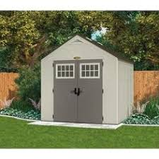 Home Depot Storage Sheds 8x10 by Suncast 8x10 Tremont Three Plastic Shed Plastic Sheds Sheds And