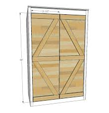 Ana White Shed Door by Ana White Small Outdoor Shed Or Closet Converted Into Smokehouse