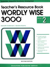 Wordly Wise 3000 Teacher Resource Book 2 2nd Edition 9780838828335