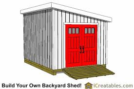 10x14 Garden Shed Plans by 10x14 Lean To Shed Plans Icreatables Com