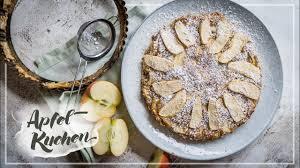 apfelkuchen rezept ohne fett zucker gelingsicher und gesund
