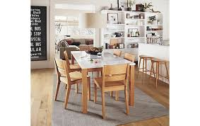 Linden Table Afton Chair Dining Room Modern Inside And Board Chairs Decor 5
