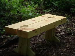 Wooden Bench Plans Park Plans Ideas Wood Projects Image With