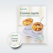 livre de recettes de cuisine pack livre clé recettes cuisine rapide pour thermomix tm5 vorwerk