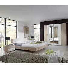 4 tlg schlafzimmer set amundi brayden studio liegefläche 180 x 200 cm farbe eiche sägerau alpinweiß