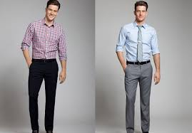 How To Match Your Dress Shirt With Pants Color Combinations