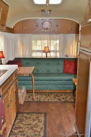 Avion LeGrande Travel Trailer At A Vintage Camper Rally Yes That Fancy Table Airstream CampersRetro