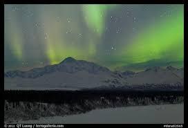 Picture Northern lights above Mt McKinley Denali National Park