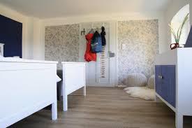 lust auf meer schlafzimmer blau rot beige tapet