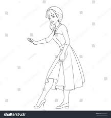 Coloring Book Cinderella Fairy Tale Character