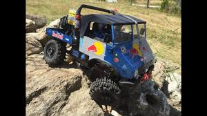 100 Redbull Truck RC Trial RedBull Unimog RockCrawling YouTube