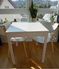 reserviert tisch küchentisch stühle weiß