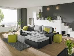 wohnlandschaft in anthrazit grau grün textil wohnen