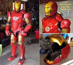 Homemade Animatronic Halloween Props by Homemade Animatronics Iron Man Suit Rivals The Real Thing Damngeeky