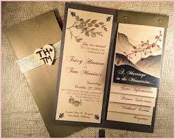 How To Make Your Own Rustic Wedding Invitations Comfortable Layered All About