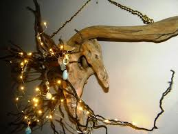 Driftwood Christmas Trees Devon by Driftwood Tree Root Chandelier With Led Fairy Lights Crystals And