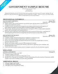 Resume Template Queensland Government Combined With Templates Samples Awesome Federal Sample