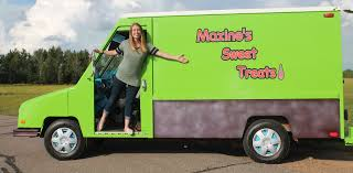 Maxine's Sweet Treats Ice Cream Truck Travels Central Wisconsin ...