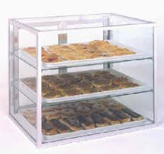 Spartan 92932 Countertop Display Case 29 X 32