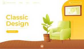 100 Home Interior Website Classic Living Room Home Interior Design Banner Landing