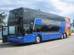 megabus and getting comfortable being uncomfortable
