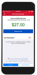 Mobile and line Banking Features from Bank of America