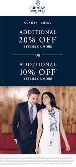 Promo Code Brooks Brothers : Pizza Hut Factoria Tanger Outlets Back To School Coupon Codes Extra 25 Off Brooksrunning Com Code Forever21promo Brooks Brothers Free Shipping Frontier 15 Off Nerdy Colctibles Coupons Promo Discount Brothers Usa September2019 Promos Sale Coupon Code Boksbrothers September 2018 Customer Marketing Coupons Sales And Promo Codes Save Money On Your Wedding Giftcardscom Wcco Ding Out Deals Heres How I Save Money Ralph Lauren Wikibuy Up 50 Working Vistaprint 2019
