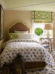 Window Treatments Decorations Decorating Ideas Spring Decoration Green Curtains Bedroom Treatment