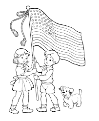 USA Printables Flag Day Coloring Pages